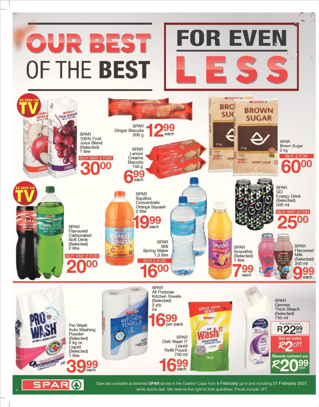 SPAR catalogue  - 02.09.2021 - 02.21.2021. Page 4.