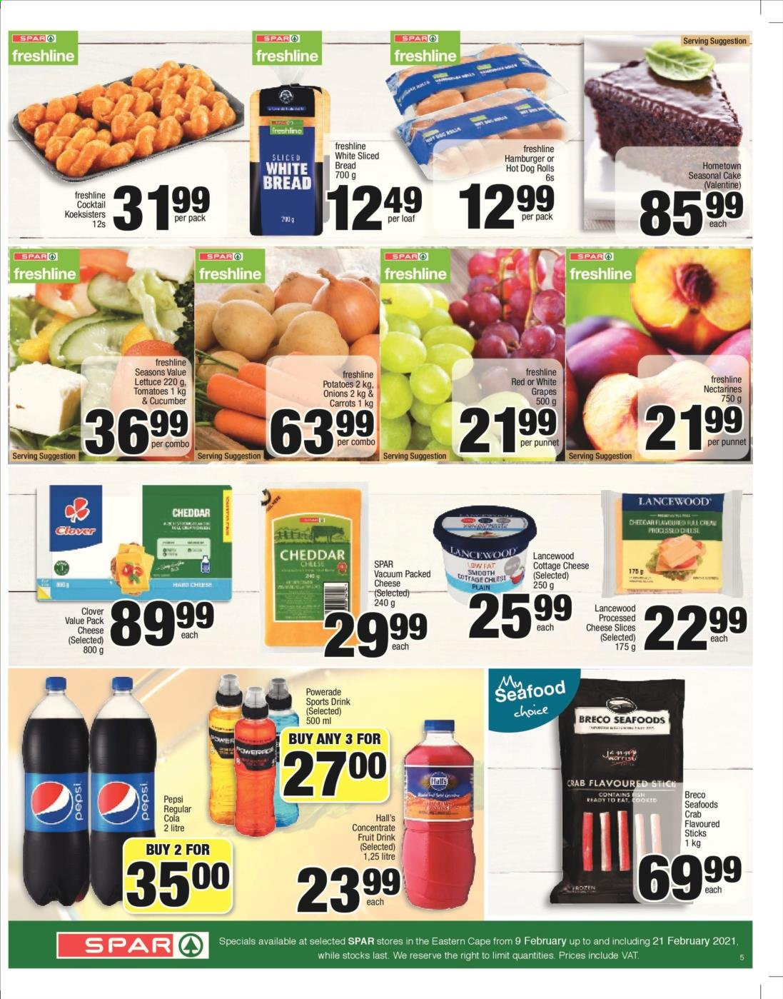 SPAR catalogue  - 02.09.2021 - 02.21.2021. Page 5.