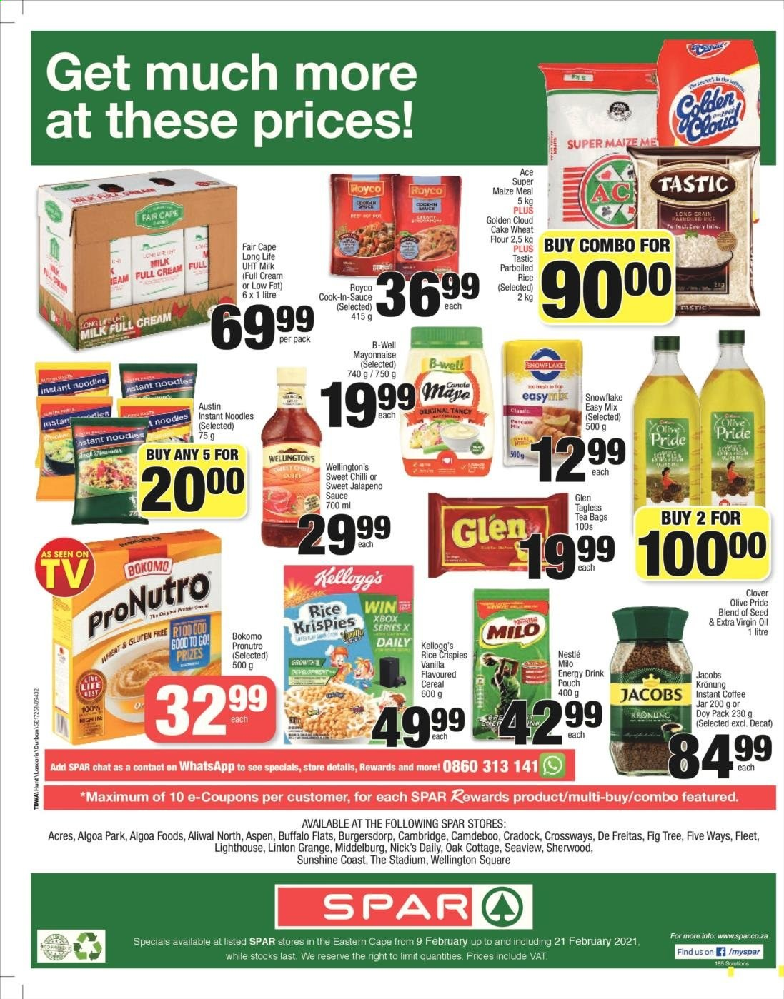 SPAR catalogue  - 02.09.2021 - 02.21.2021. Page 8.